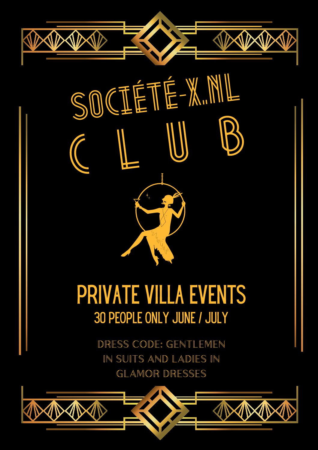 30 pers Club events